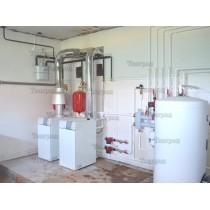Монтаж отопления в частных домах