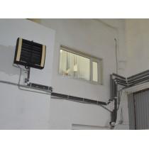 Недорогая система отопления производственного здания