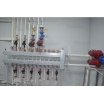 Теплоснабжение производственно-складного здания с разветвленной системой отопления