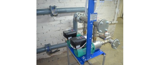 Установка станций повышения давления воды