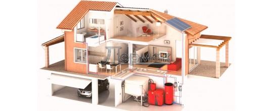 Проектирование систем водоснабжения, канализации и отопления