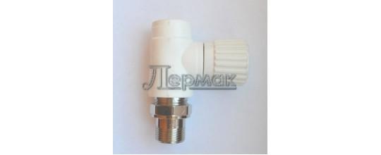 Клапан прямой радиаторный полипропиленовый 20х1/2