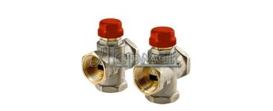 Трехходовой термостатический смесительный клапан VT.MR01