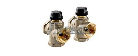 Трехходовой термостатический смесительный клапан VT.MR02