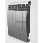Радиатор RoyalThermo BiLiner Silver Satin 4 секции
