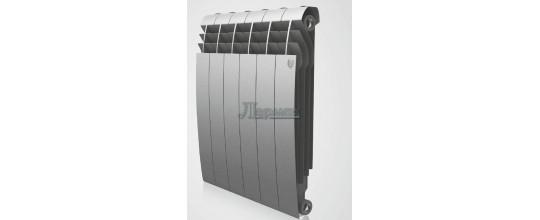 Радиатор RoyalThermo BiLiner Silver Satin 8 секций